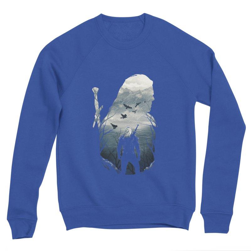 Wild Hunt Women's Sponge Fleece Sweatshirt by dandingeroz's Artist Shop