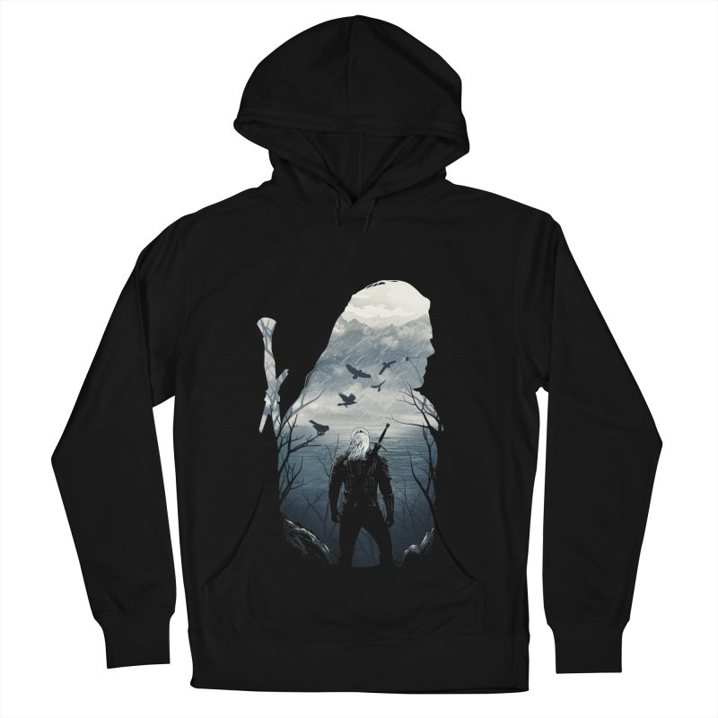 Wild Hunt Women's French Terry Pullover Hoody by dandingeroz's Artist Shop