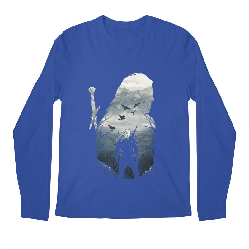 Wild Hunt Men's Regular Longsleeve T-Shirt by dandingeroz's Artist Shop