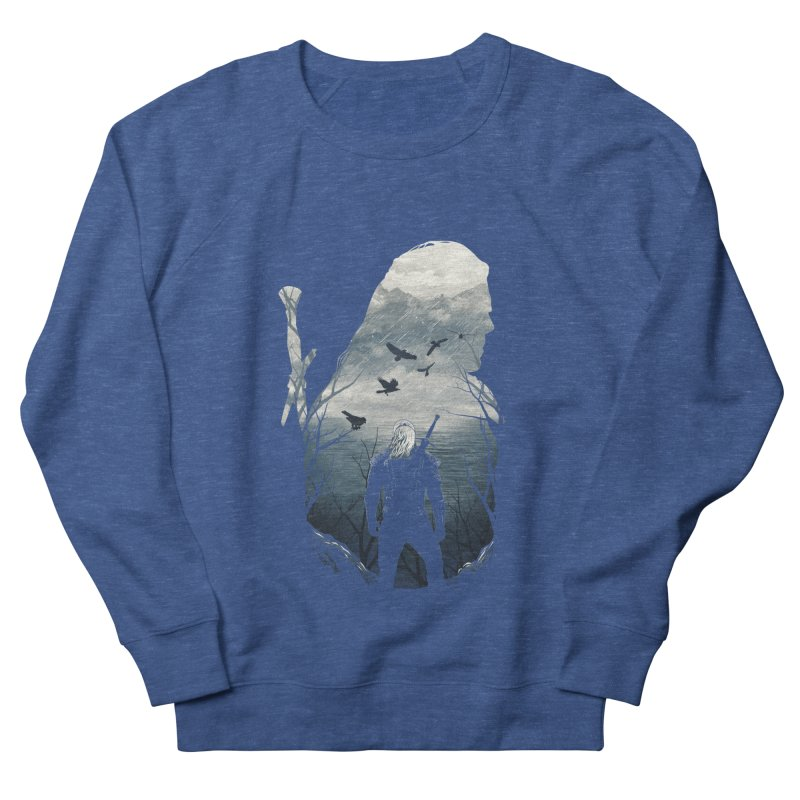 Wild Hunt Women's French Terry Sweatshirt by dandingeroz's Artist Shop