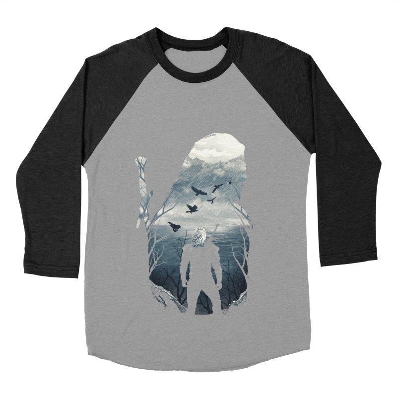 Wild Hunt Women's Baseball Triblend Longsleeve T-Shirt by dandingeroz's Artist Shop