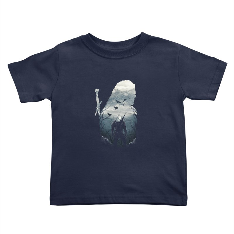 Wild Hunt Kids Toddler T-Shirt by dandingeroz's Artist Shop