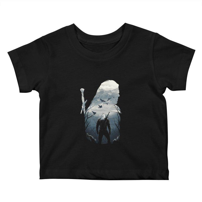Wild Hunt Kids Baby T-Shirt by dandingeroz's Artist Shop