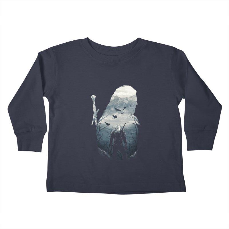 Wild Hunt Kids Toddler Longsleeve T-Shirt by dandingeroz's Artist Shop