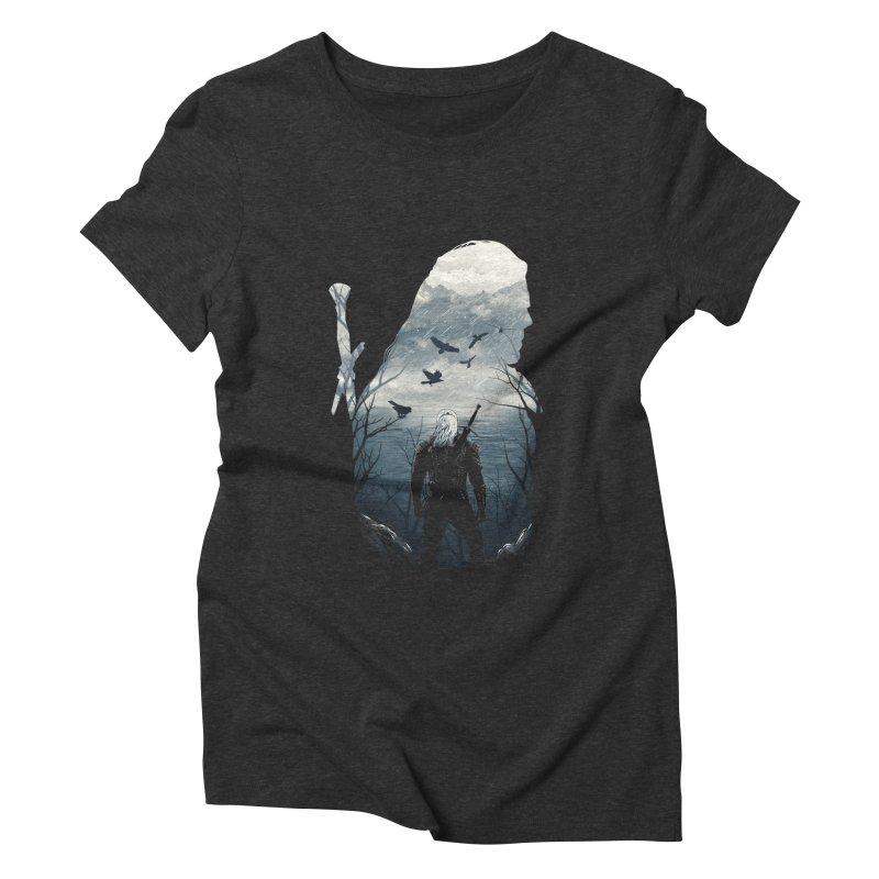 Wild Hunt Women's Triblend T-Shirt by dandingeroz's Artist Shop