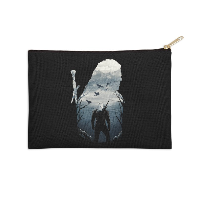 Wild Hunt Accessories Zip Pouch by dandingeroz's Artist Shop
