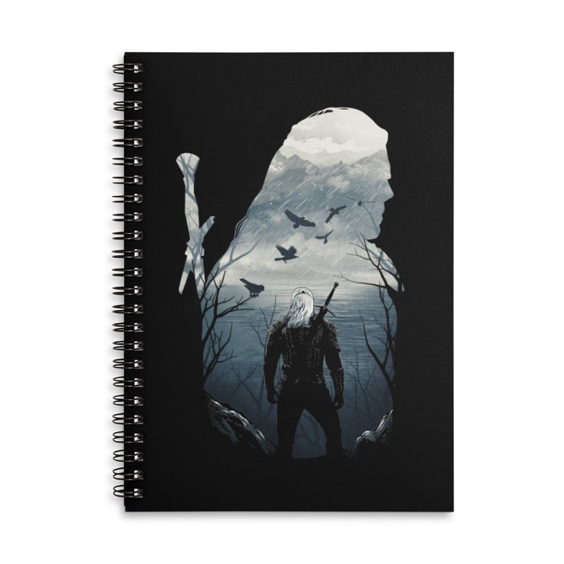 Wild Hunt Accessories Lined Spiral Notebook by dandingeroz's Artist Shop