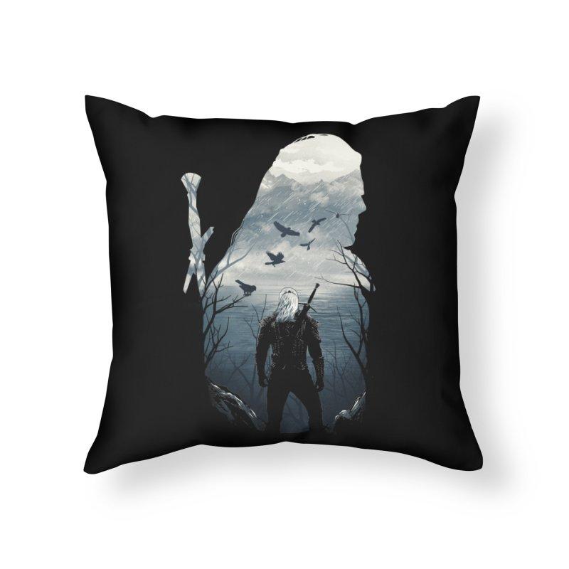 Wild Hunt Home Throw Pillow by dandingeroz's Artist Shop
