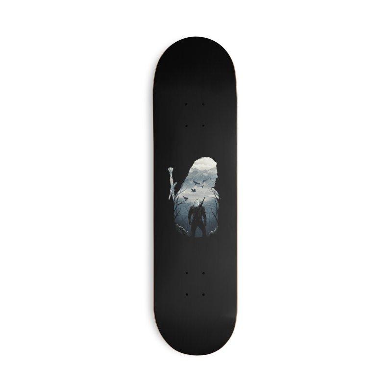 Wild Hunt Accessories Deck Only Skateboard by dandingeroz's Artist Shop