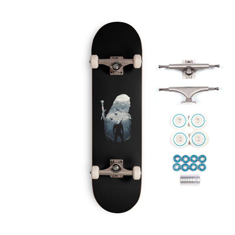 Wild Hunt Accessories Complete - Basic Skateboard by dandingeroz's Artist Shop