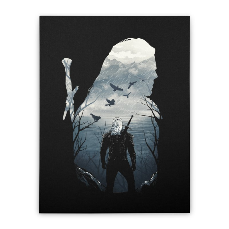 Wild Hunt Home Stretched Canvas by dandingeroz's Artist Shop