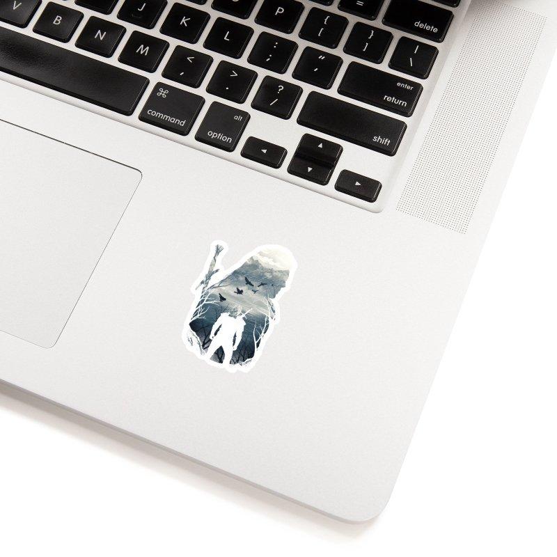 Wild Hunt Accessories Sticker by dandingeroz's Artist Shop