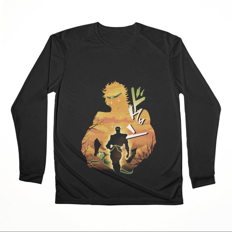 Stardust Crusader Dio Men's Performance Longsleeve T-Shirt by dandingeroz's Artist Shop