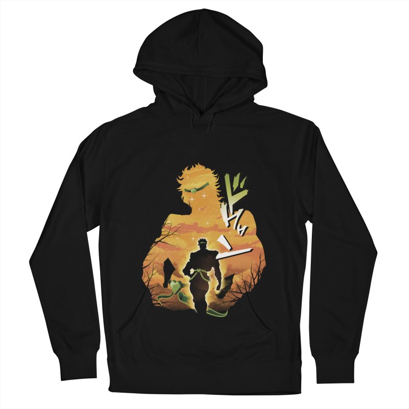 Stardust Crusader Dio Men's French Terry Pullover Hoody by dandingeroz's Artist Shop