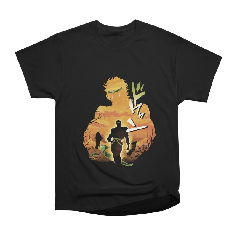 Stardust Crusader Dio Women's Heavyweight Unisex T-Shirt by dandingeroz's Artist Shop