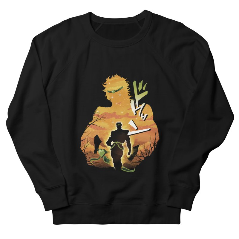 Stardust Crusader Dio Women's French Terry Sweatshirt by dandingeroz's Artist Shop