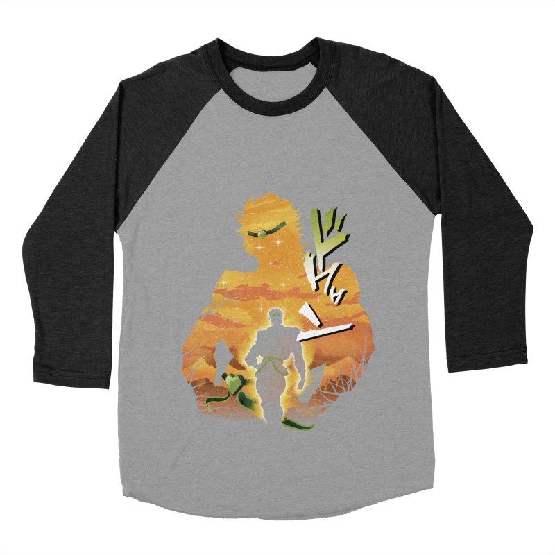 Stardust Crusader Dio Men's Baseball Triblend Longsleeve T-Shirt by dandingeroz's Artist Shop