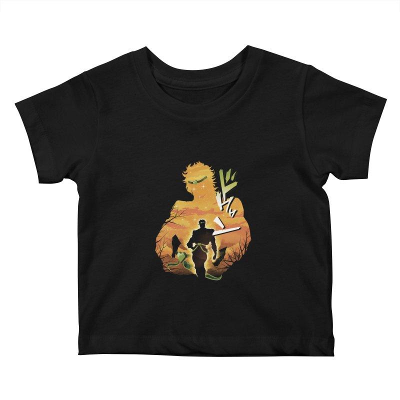 Stardust Crusader Dio Kids Baby T-Shirt by dandingeroz's Artist Shop