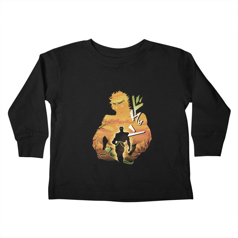Stardust Crusader Dio Kids Toddler Longsleeve T-Shirt by dandingeroz's Artist Shop