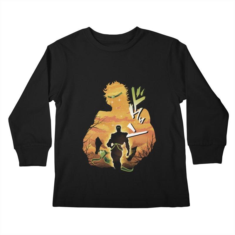 Stardust Crusader Dio Kids Longsleeve T-Shirt by dandingeroz's Artist Shop