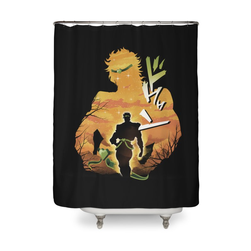 Stardust Crusader Dio Home Shower Curtain by dandingeroz's Artist Shop