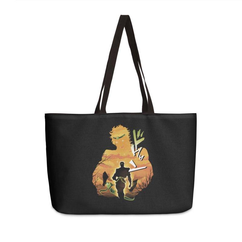 Stardust Crusader Dio Accessories Weekender Bag Bag by dandingeroz's Artist Shop