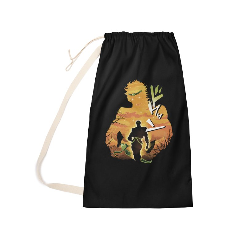 Stardust Crusader Dio Accessories Laundry Bag Bag by dandingeroz's Artist Shop