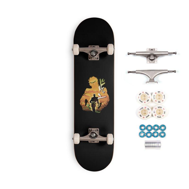 Stardust Crusader Dio Accessories Complete - Premium Skateboard by dandingeroz's Artist Shop