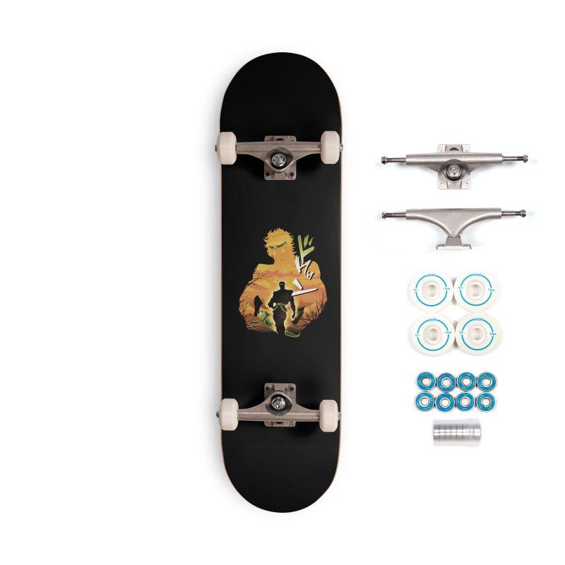 Stardust Crusader Dio Accessories Complete - Basic Skateboard by dandingeroz's Artist Shop