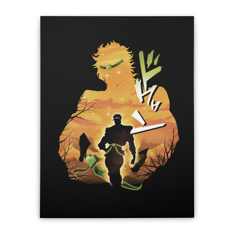Stardust Crusader Dio Home Stretched Canvas by dandingeroz's Artist Shop