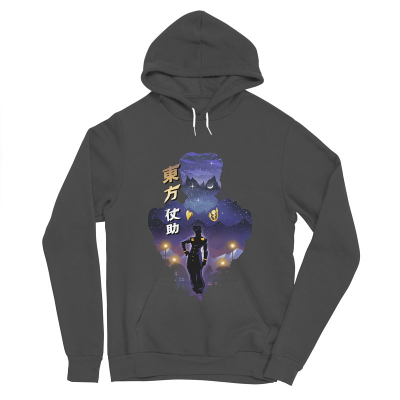 Josuke Crazy Diamond Women's Sponge Fleece Pullover Hoody by dandingeroz's Artist Shop
