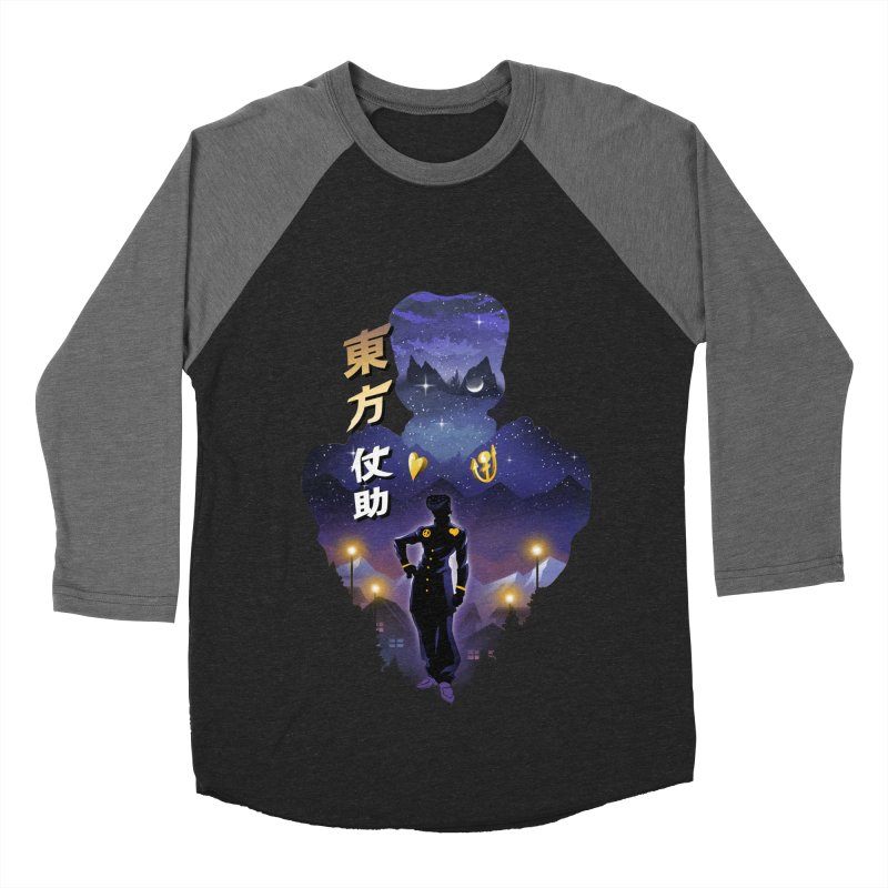 Josuke Crazy Diamond Women's Baseball Triblend Longsleeve T-Shirt by dandingeroz's Artist Shop