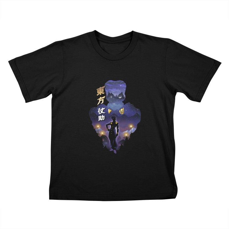 Josuke Crazy Diamond Kids T-Shirt by dandingeroz's Artist Shop