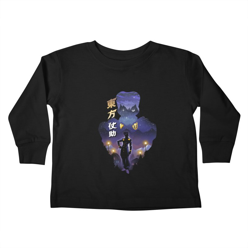 Josuke Crazy Diamond Kids Toddler Longsleeve T-Shirt by dandingeroz's Artist Shop