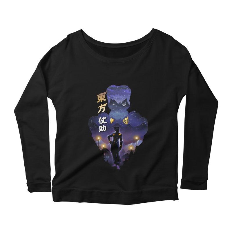 Josuke Crazy Diamond Women's Scoop Neck Longsleeve T-Shirt by dandingeroz's Artist Shop
