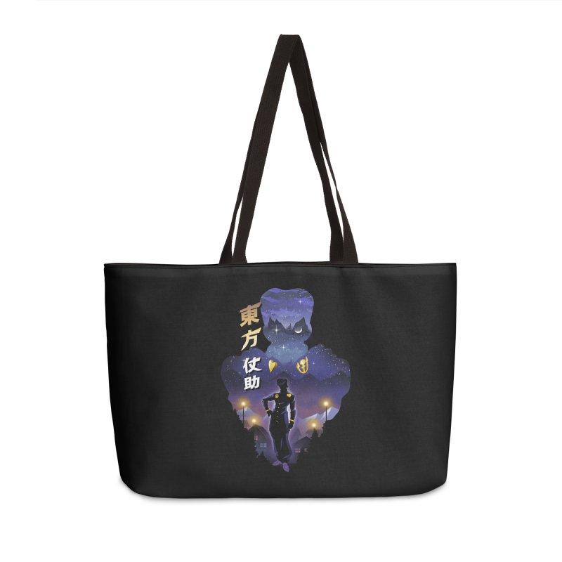Josuke Crazy Diamond Accessories Weekender Bag Bag by dandingeroz's Artist Shop
