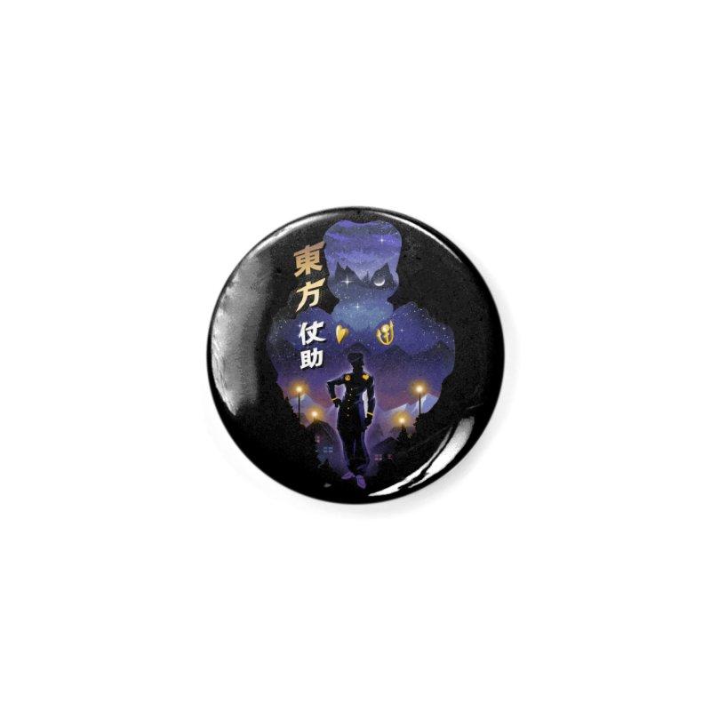 Josuke Crazy Diamond Accessories Button by dandingeroz's Artist Shop