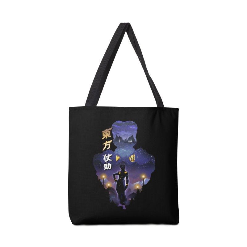 Josuke Crazy Diamond Accessories Tote Bag Bag by dandingeroz's Artist Shop