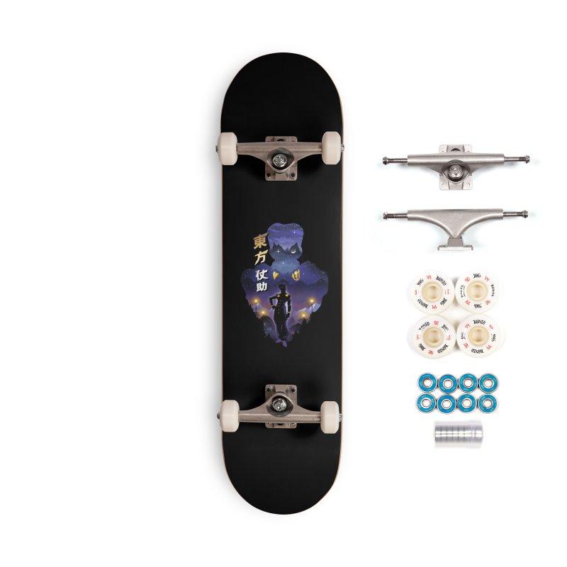 Josuke Crazy Diamond Accessories Complete - Premium Skateboard by dandingeroz's Artist Shop