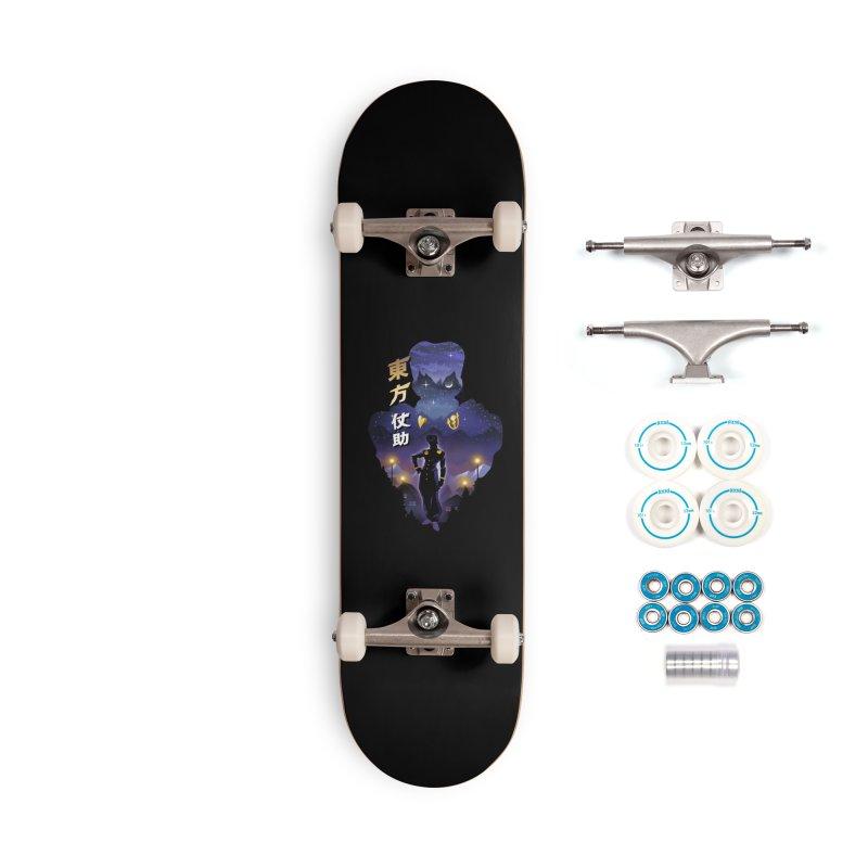 Josuke Crazy Diamond Accessories Complete - Basic Skateboard by dandingeroz's Artist Shop