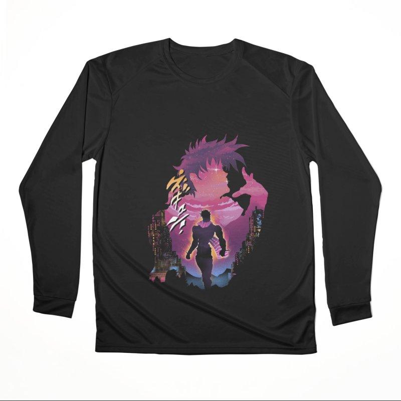 Joestar Adventure Men's Performance Longsleeve T-Shirt by dandingeroz's Artist Shop