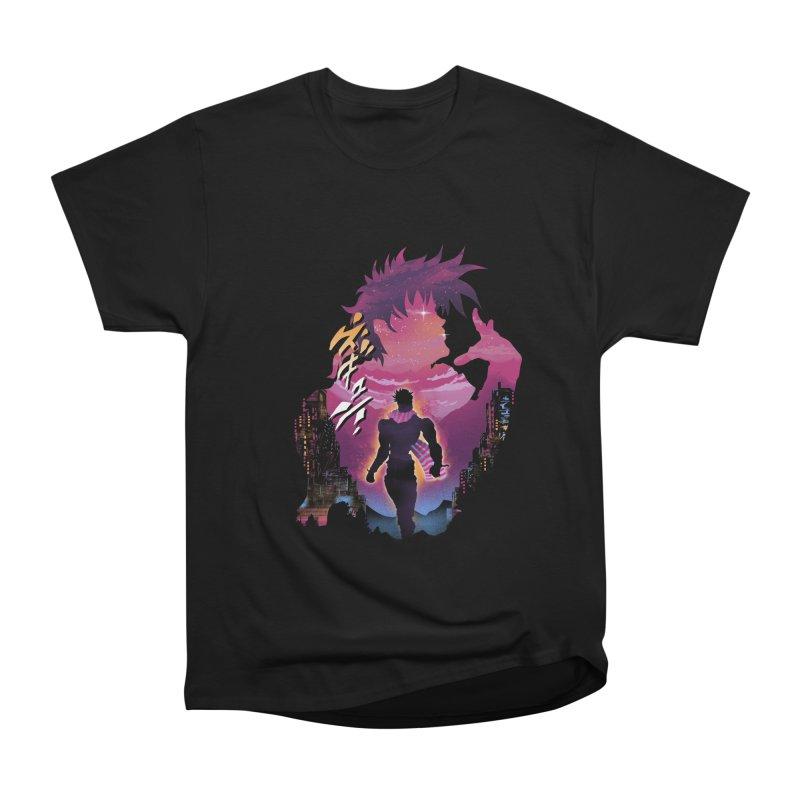 Joestar Adventure Women's Heavyweight Unisex T-Shirt by dandingeroz's Artist Shop