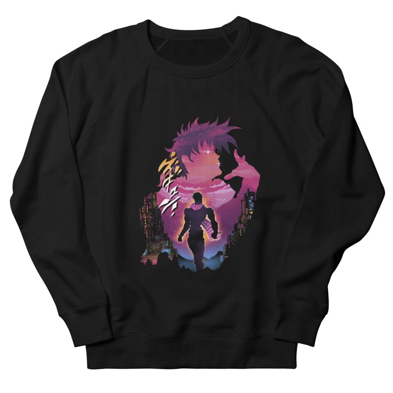 Joestar Adventure Women's French Terry Sweatshirt by dandingeroz's Artist Shop