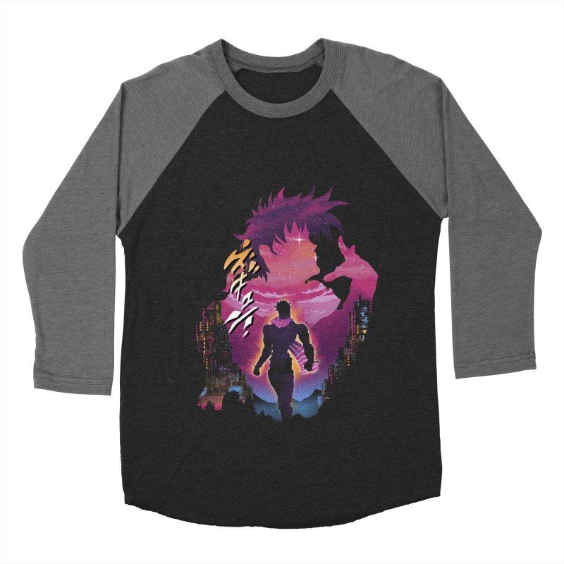 Joestar Adventure Women's Baseball Triblend Longsleeve T-Shirt by dandingeroz's Artist Shop
