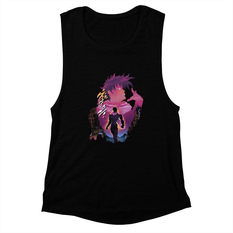 Joestar Adventure Women's Muscle Tank by dandingeroz's Artist Shop