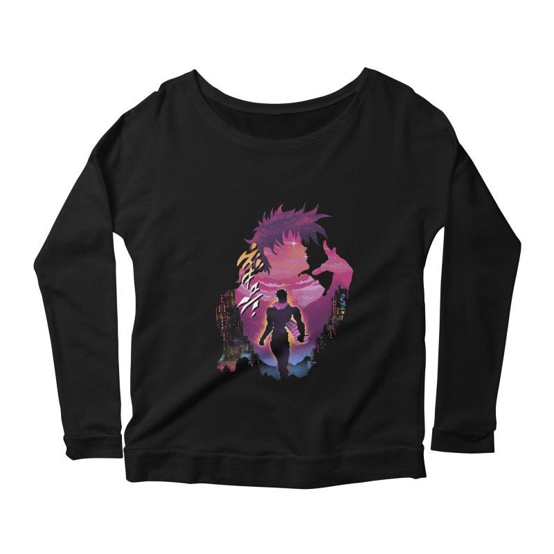 Joestar Adventure Women's Scoop Neck Longsleeve T-Shirt by dandingeroz's Artist Shop