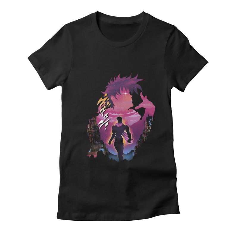 Joestar Adventure Women's Fitted T-Shirt by dandingeroz's Artist Shop