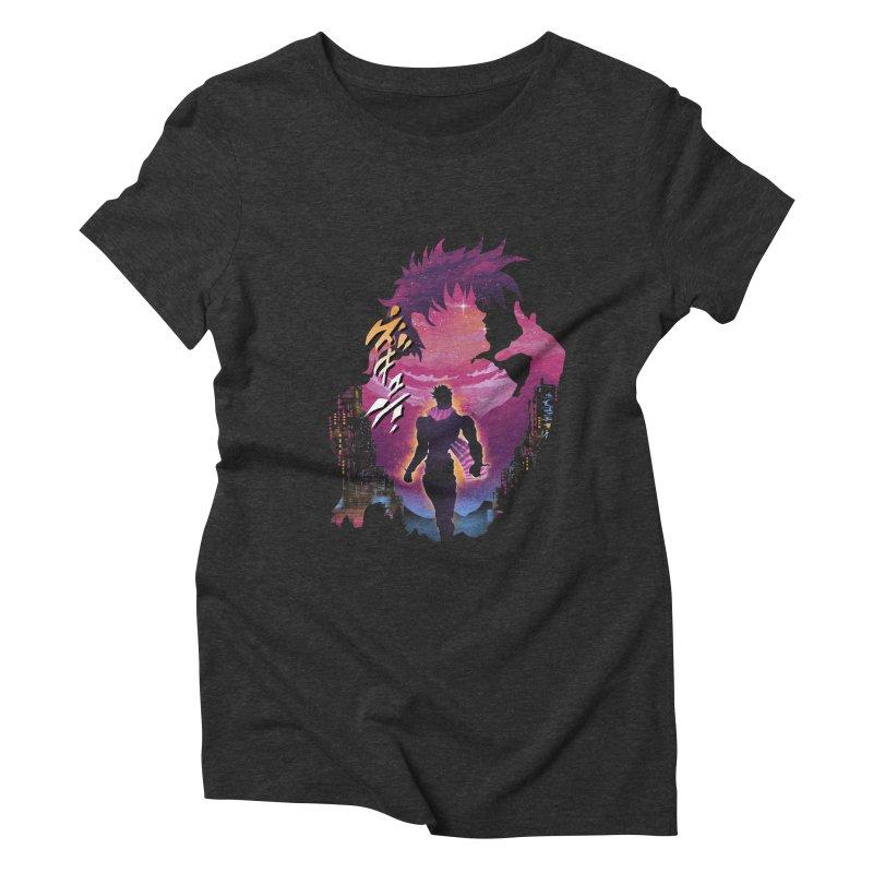Joestar Adventure Women's Triblend T-Shirt by dandingeroz's Artist Shop
