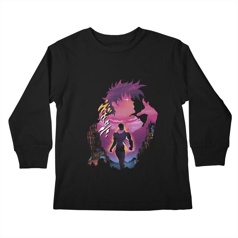 Joestar Adventure Kids Longsleeve T-Shirt by dandingeroz's Artist Shop
