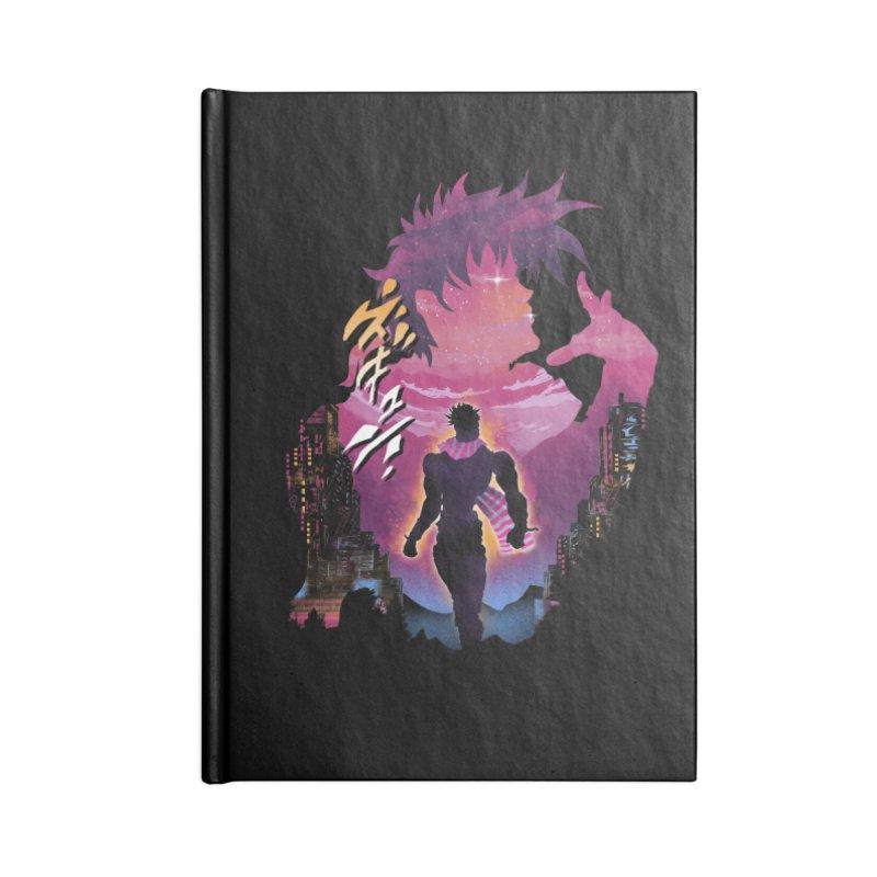 Joestar Adventure Accessories Lined Journal Notebook by dandingeroz's Artist Shop
